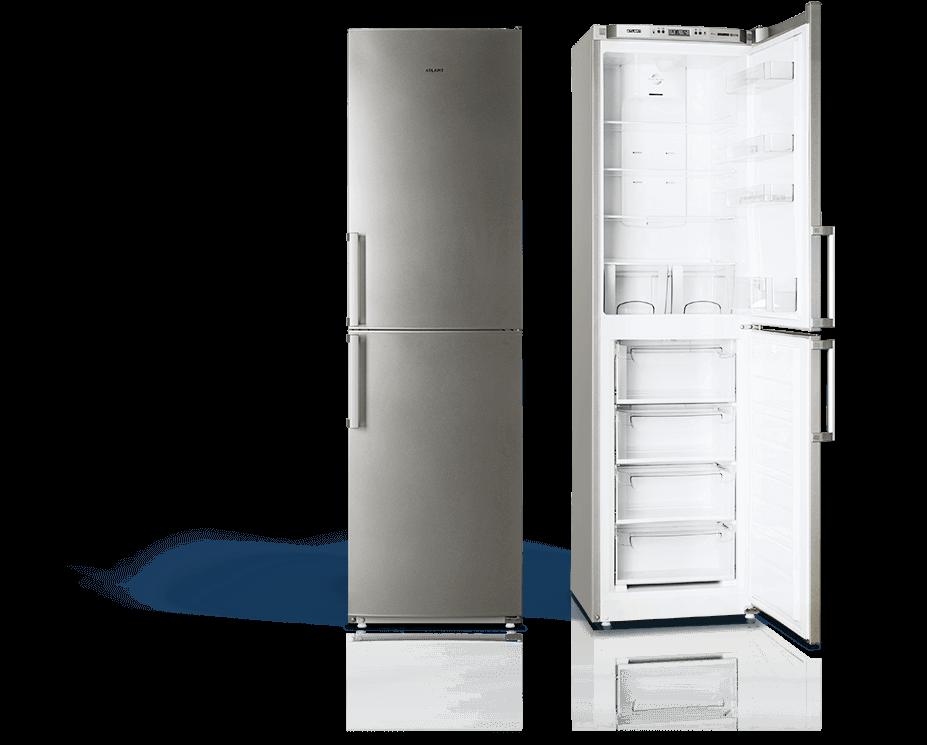 Холодильники no frost ATLANT COMFORT + сріблястий