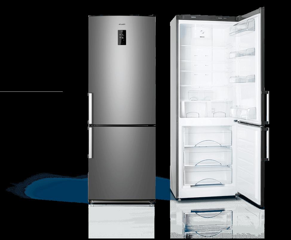 Холодильники NO FROST ATLANT MAXIMUM PREMIUM сріблястий