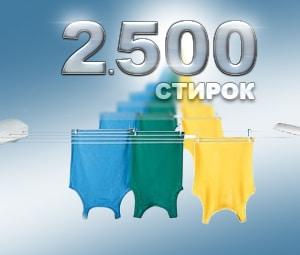 Стиральные машины АТЛАНТ: 2500 стирок за 10 лет – ГАРАНТИРОВАНО!