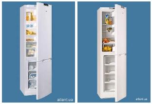 Холодильники АТЛАНТ серий ХМ 6121, ХМ 6125, ХМ 6126 и ХМ 6124 с новым внешним дизайном Geometry