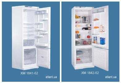 Новые модели холодильников АТЛАНТ 1841-62 и АТЛАНТ 1842-62