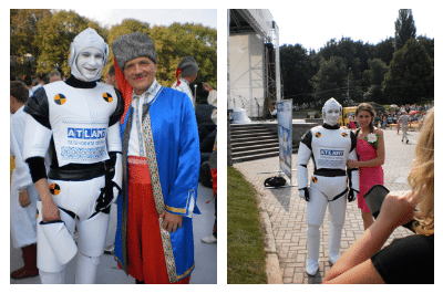 АТЛАНТ - спонсор Всеукраинского фестиваля «Парад вышиванок» 2012