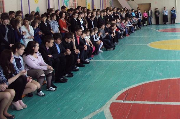 АТЛАНТ посетилшколу № 168 г. Киева