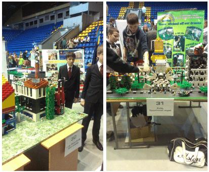 Юные участники «Robotica-2013»