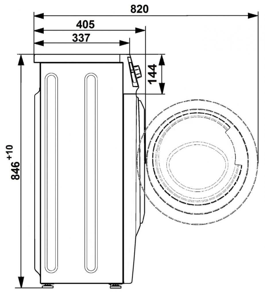 Стиральная машина ATLANT СМА 40М105