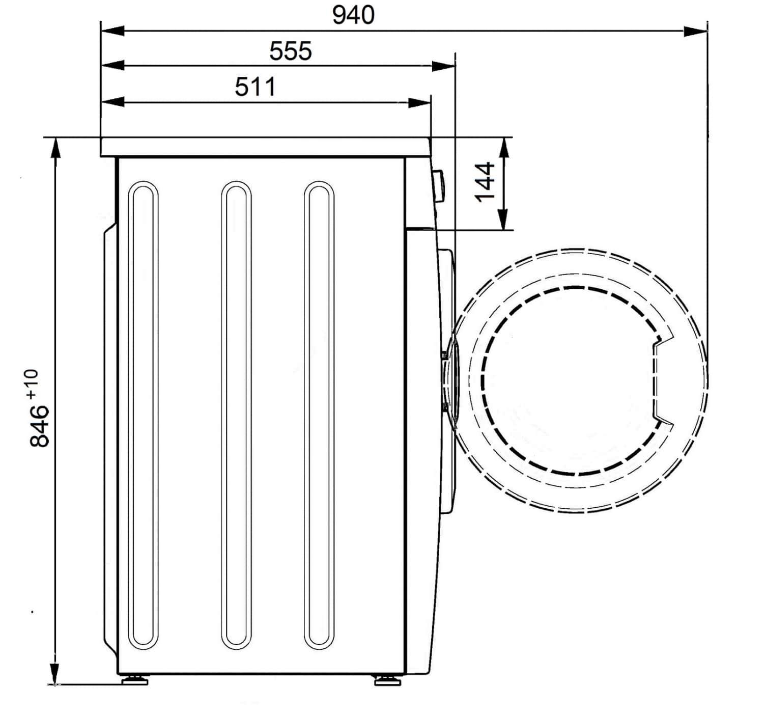 Стиральная машина ATLANT СМА 60С107