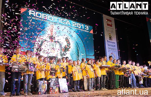 АТЛАНТ наградил победителей «ROBOTICA-2013»!