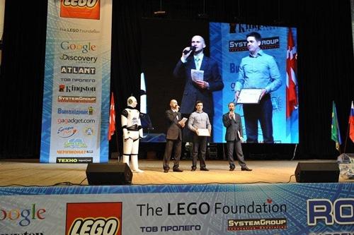 Компания АТЛАНТ выступила партнером мероприятия «Robotica 2012»