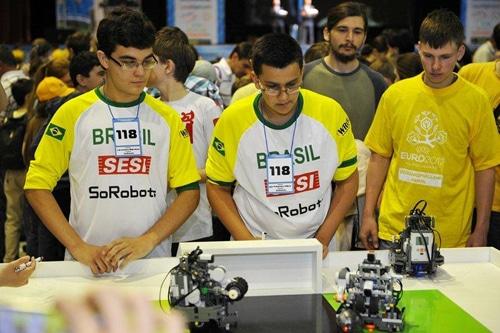 Всеукраинская олимпиада по робототехнике