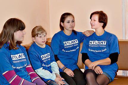 АТЛАНТ помогает детям!