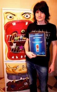 Победитель конкурса получил в подарок от нас эксклюзивный холодильник АТЛАНТ по своему собственному эскизу