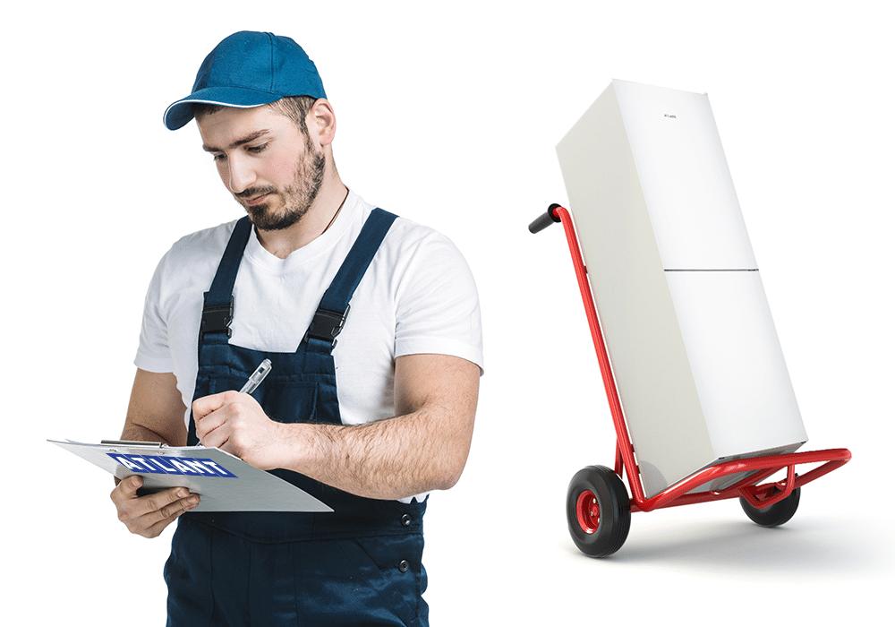 Как правильно перевозить холодильник ATLANT