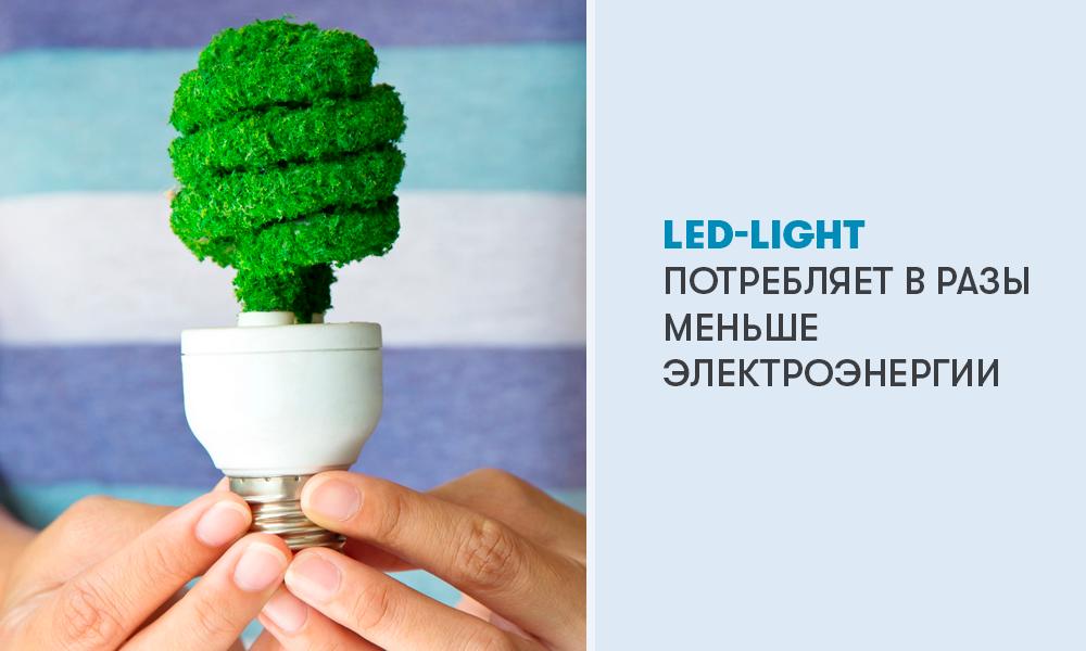 LED освещение в холодильниках ATLANT