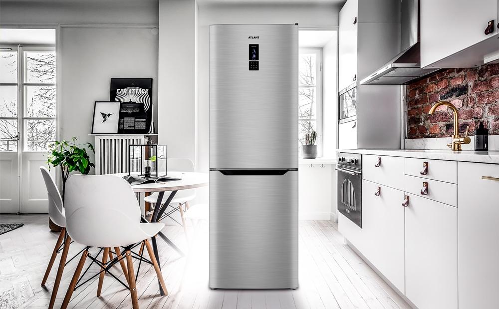 Новинка 2021! Холодильник серии ADVANCE (COMFORT+) в цвете нержавеющая сталь