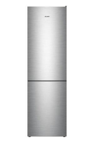 Холодильник ATLANT ХМ 4624 цвет нержавеющая сталь