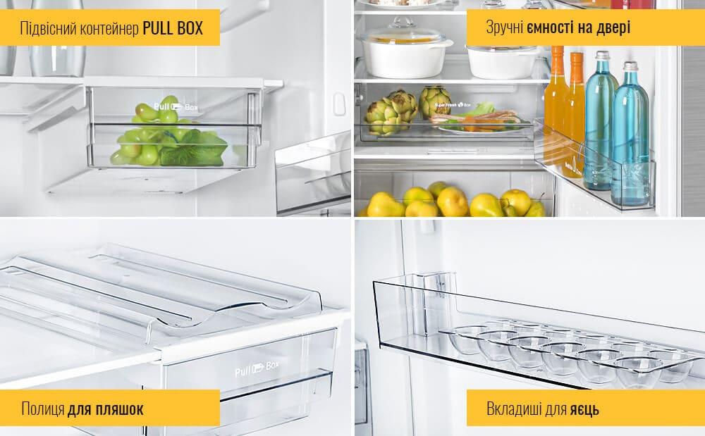 Новинка! Холодильник ATLANT X 1602 в кольорі нержавіюча сталь